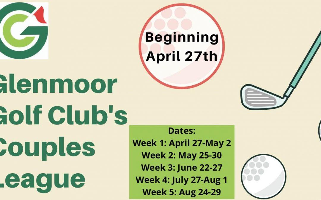 Glenmoor's Couples League